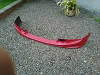 Honda civic type r type s benuine front lower spoiler spliter