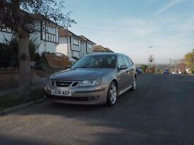 Saab 9-3 Vector Turbo Diesel Estate - Automatic - 12 Months MOT