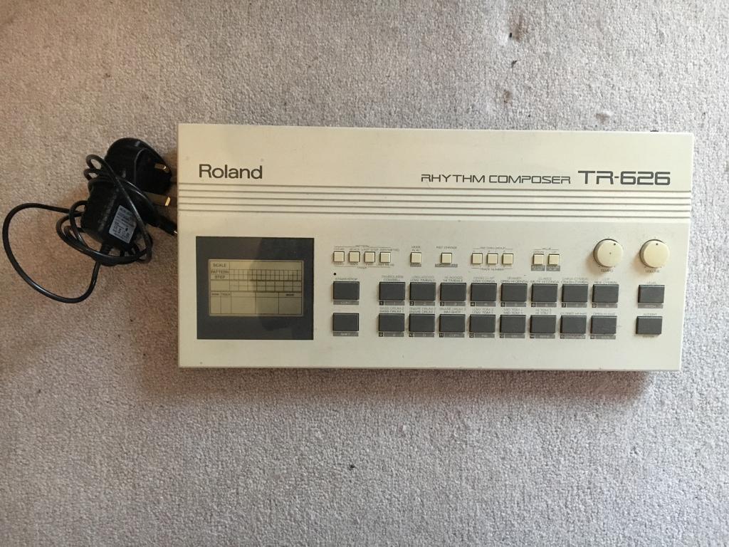 Roland TR-626 Drum Machine