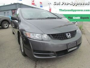 2010 Honda Civic DX-G * CAR LOANS FOR ALL CREDIT SITUATIONS London Ontario image 1