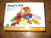 Wooden Noah's Ark by Orange Tree