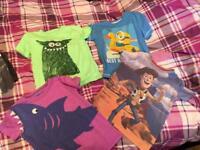 Boys tshirts age 3/4