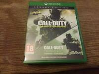 Call of Duty Infinite Warfare Legacy Edition Xbox One MINT