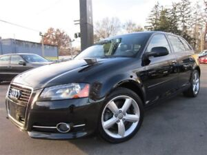 2013 Audi A3 2.0T PROGRESSIV~49KMS~SUNROOF~6 SPEED !!