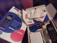 Motorola talkabout one to one mobile phone retro with box and charger