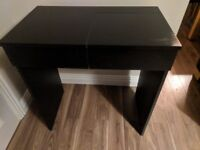 IKEA Brimnes Dressing Table in Black Very Good Condition with Mirror and Draw Storage!