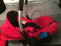 Sivercross car seat and ISOfix base