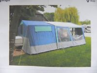 Conway 5 berth trailer tent with large awning