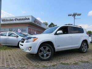 2012 Toyota RAV4 SPORT LEATHER PACKAGE LEATHER, ROOF, MAGS, BLUE