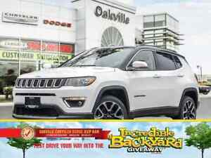 2018 Jeep Compass LIMITED   0% FINANCING UP TO 60 MONTHS OAC  