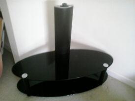 FOR SALE SMOKER GLASS TV STAND