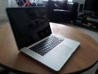 "Apple laptop 15"" Macbook Pro for Spares or repairs / Fresh RAM"