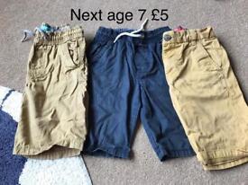 Next age 7 boys