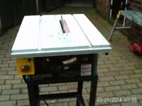 FOR SALE CIRCULAR SAW BENCH