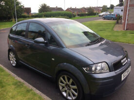2003 Audi A2 (not A1 or A3) £30/yr Tax, MOT to Jan 18, Really Efficient Car