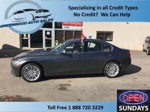 2014 BMW 328I AWD LOW KM'S (68870 KM'S) NAVI, ROOF HEATED WHEEL
