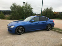 BMW 3 Series 2.0 320i M Sport 4dr Metallic Estoril Blue