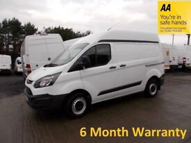 Ford Transit Custom 2.2 TDCi 100 270 SWB H/Roof (2015)..ONLY 52,000 Miles