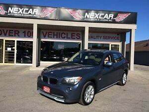 2012 BMW X1 AUT0 AWD LEATHER PANORAMIC ROOF 104K