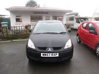 Mitsubishi Colt 1.1 CZ1 3dr comes with 12 months mot service history looks and drives excellent