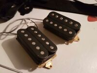 Pair of Humbuckers taken from a Yamaha Pacifica