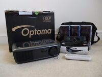 Optoma HD600X 3D Projector w/box & 4 pairs of 3D Glasses