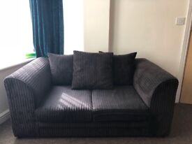 Two cord sofas for sale