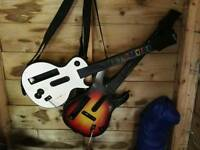 Guitar Hero x 2 wireless Wii