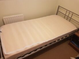 Single bed and mattress combo