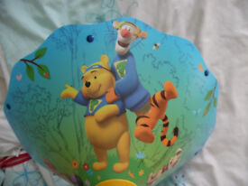 Winnie the Pooh and friends uplighter lampshade for baby, toddlers room, unisex