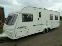 2005 avondale 6 berth twin axle 650/6 twin axle full paperwork and keys