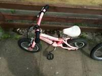 """Girls bike age 2-4 year 12"""""""