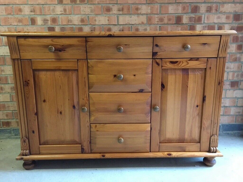 Belgian pine cabinet