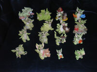 16 Pocket Dragons collectables,