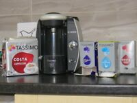 Tassimo coffee machine for sale with pods coffee chocolate pods