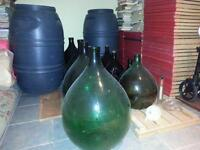 Demijohns and Wine Equipment