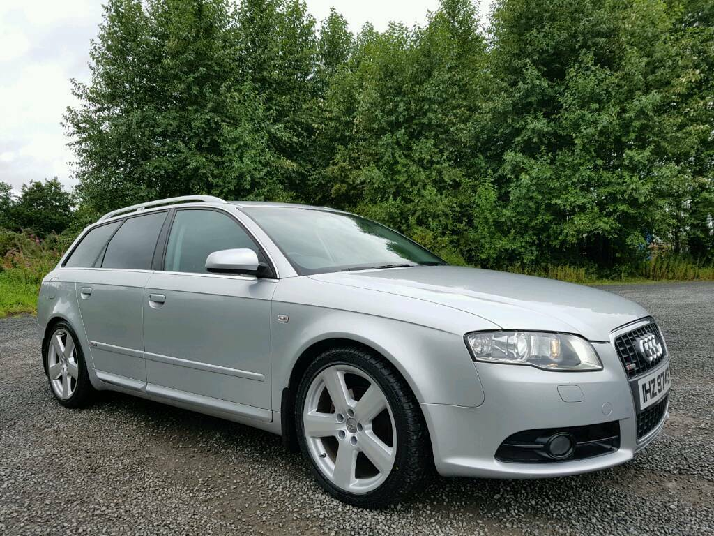 2007 audi a4 avant 2 0 tdi s line full leather bose. Black Bedroom Furniture Sets. Home Design Ideas