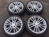 Original Suzuki Swift Sport Wheels 17x6.5 et50 5x114.3 Continental ContiSportContact3 Tyres.