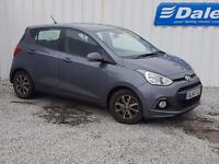 Hyundai i10 Premium 1.2 5dr (grey) 2014