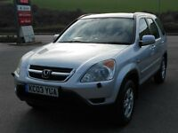 HONDA CRV 2.0 i-VTEC SE SPORT 4X4, 2003, 117K, FSH - 12 STAMPS, LONG MOT, PETROL, MANUAL, SUPERB 4WD