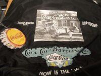 Coca Cola brand drawstring duffel bag/backpack NEW