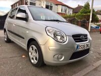 SCRATCH-LESS 2008 KIA PICANTO-2,ONE OWNER,1.1 ENGINE,66000 MILES,FULL KIA SERVICE HISTORY,HPI CLEAR
