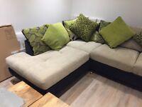 Furniture Village City corner sofa
