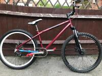 Dmr sidekik sidekick mountain bike jump bike will post