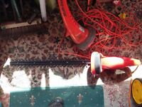 420w electric hedge trimmer , used & working.
