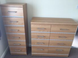 2 chest of draws