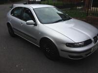 2001 seat Leon 1.4 16v s moted cheap we car !!