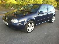 VW Golf GT TDi 130 full loaded new MOT 2 former keepers