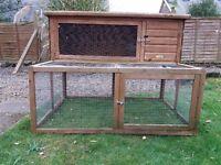 Guinea Pig hutch with run £40