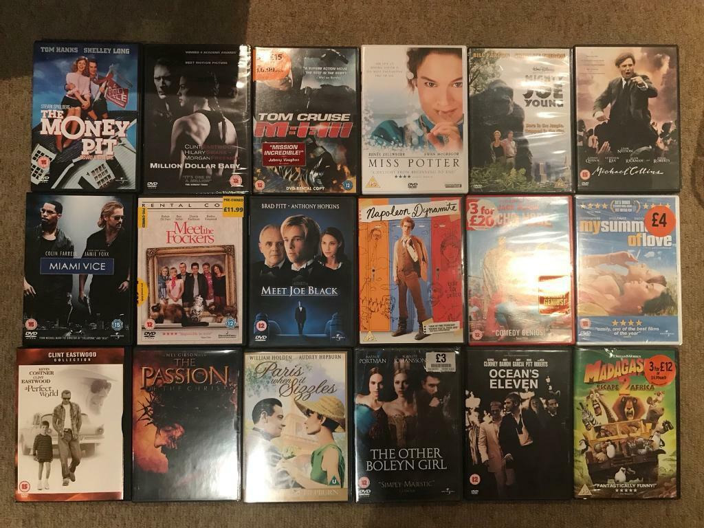 Mixed DVDs - pick what you want